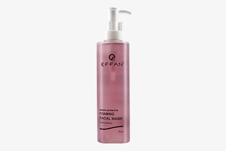 GRAPE EXTRACTS FOAMING FACIAL WASH